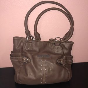 Rosetti shoulder bag brown silver